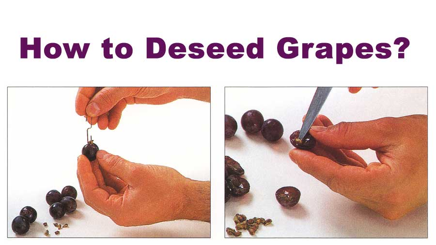 How to Deseed Grapes
