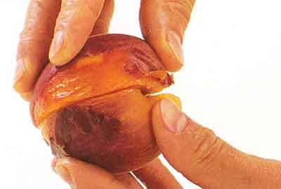 How-To-Scald-Stone-and-Peel-a-Peach-tips-step 4