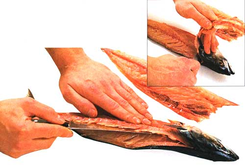 How-to-Fillet-a-Round-Fish-Lift-off-the-bone-and-sever-the-fillet-at-the-head