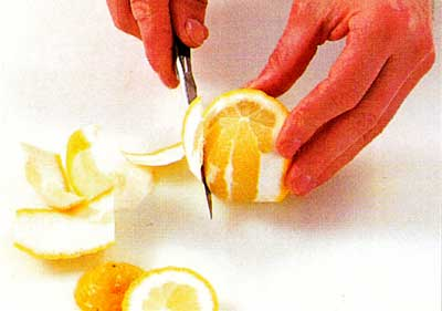 How to Peel and Segment a Lemon step by step