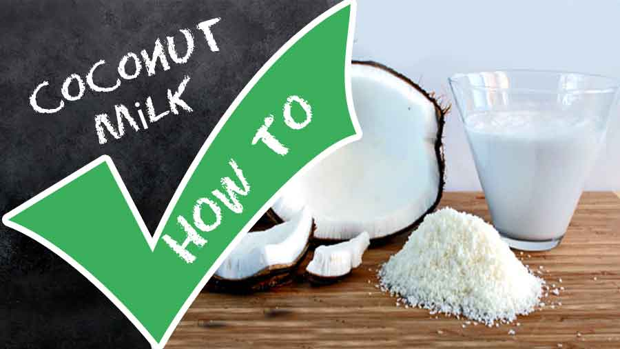 How to Make Coconut Milk-Easy and Homemade-recipematic-how many calories